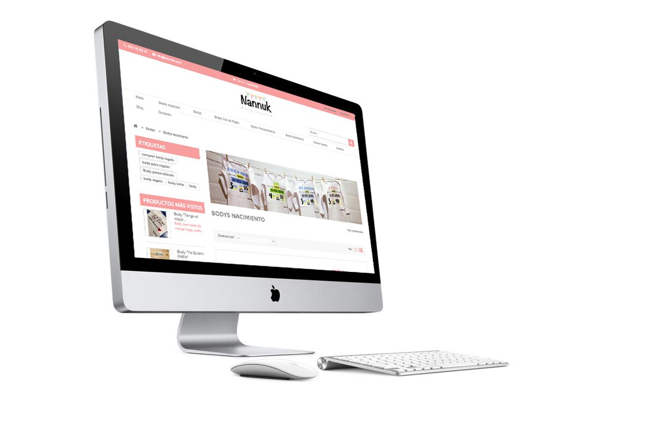 Diseño de tienda online y web